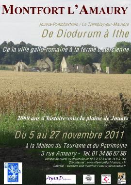 Affiche de l'exposition 2011 à Montfort