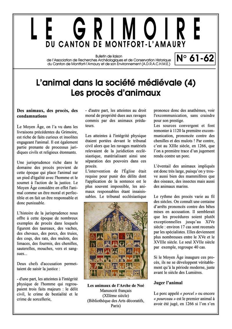 Grimoire n61 & 62