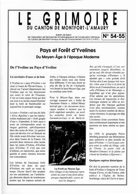 Le Gimoire du Canton de Montfort-l`Amaury n54-55